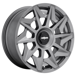 CVT 18x8.5 Matte Anthracite 5x100, 5x112 Bolt Pattern 35mm Offset