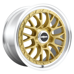 LSR Matte Gold Machined
