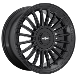 BUC-M 19x8.5 Matte Black Blank Bolt Pattern 35mm Offset