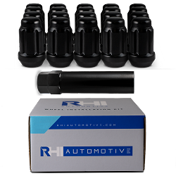 RHI Automotive 8 Lug Spline Black Kit