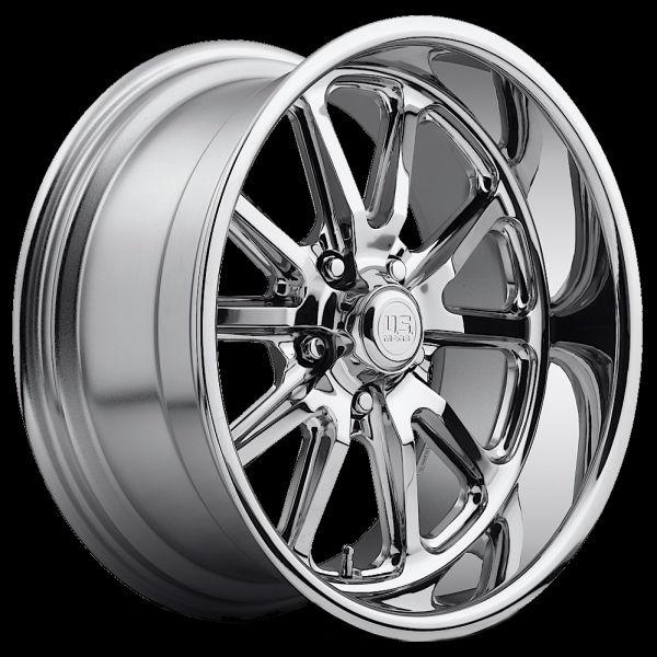 Truck Wheels And Tires >> U11017806545 U.S. Mags Chrome Rambler 1pc 17x8 5x4.5