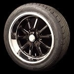 U.S. Mags Rambler Black Wheel and Tire Package