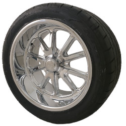 Chrome Rambler Wheel and Tire Packages