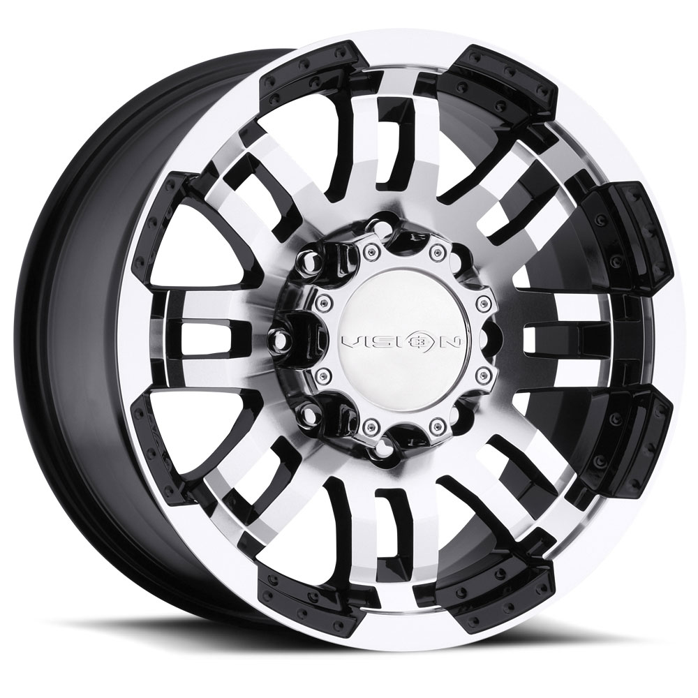 375 Warrior 16x8 8x6.5 -6mm