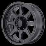 TURBINE 15x8 5x4.5 SATIN BLACK (-19mm)