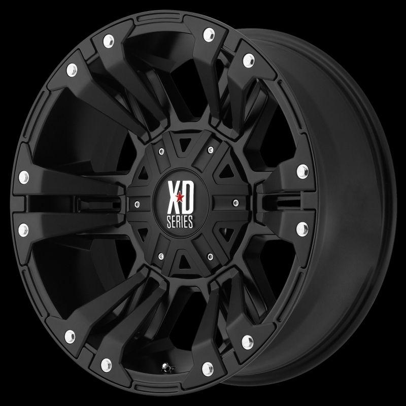 Truck Wheels And Tires >> XD82281086724N XD822 Monster II 18x10 5x5.5 - 5x150 -24mm