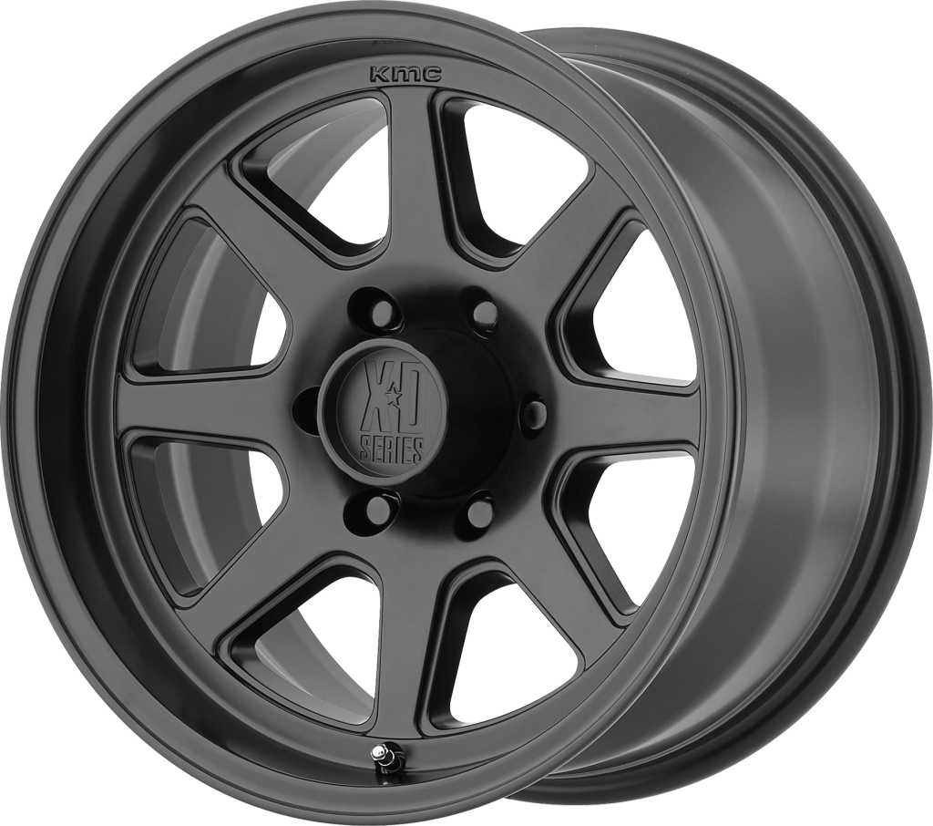 TURBINE 17x9 6x5.5 SATIN BLACK (-12mm)