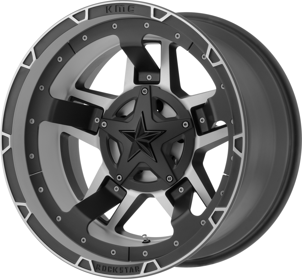 Matte Black Machined RS3 20x10 6x135, 6x5.5 (-24mm)