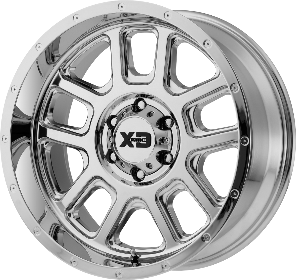 Delta 20x9 Chrome 6x135 Bolt Pattern 0mm Offset