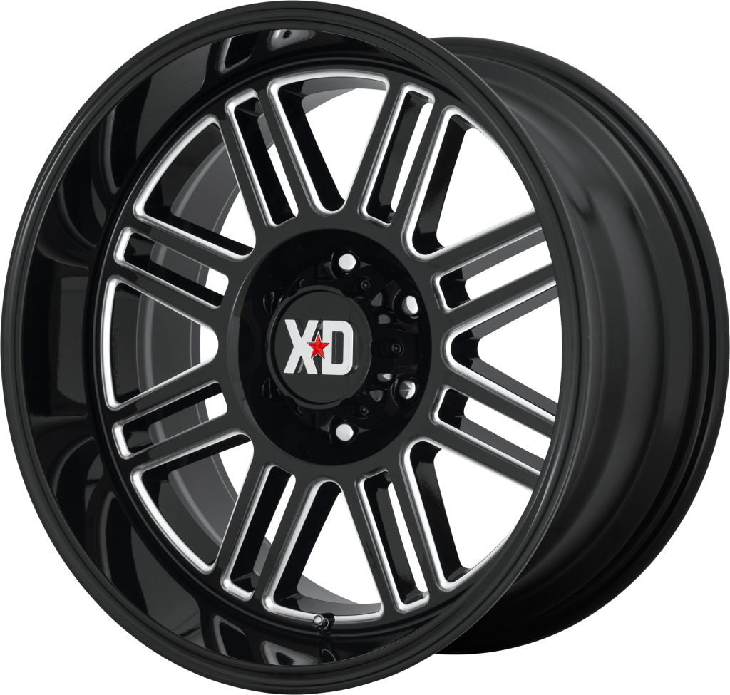 Cage 20x9 6x135 Gloss Black Milled (0 mm)