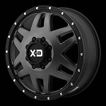 Machete DUALLY 20x8.25 8x165.1 Satin Black (97 mm)