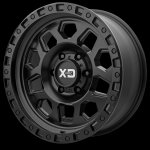 RG2 17x9 5x127 Satin Black (-12 mm)
