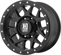 BULLY 16x8 6x5.50 BLACK (0mm)