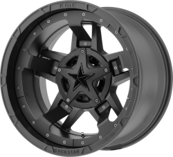 Matte Black RS3 20x12 6x135, 6x5.5 (-44mm)