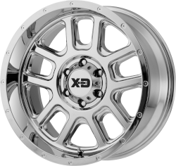 Delta 22x10 6x135 Chrome (-18 mm)