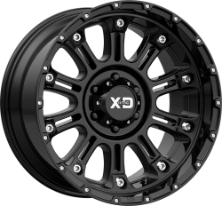 Hoss 2 20x10 8x170 Gloss Black (-24 mm)