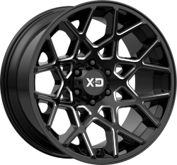 Chopstix 20x10 8x170 Gloss Black Milled (-24 mm)
