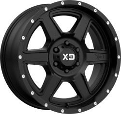 Fusion 20x10 5x150 Satin Black (-24 mm)