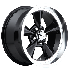 Black Standard 15x7 5/4.75 -6MM Offset