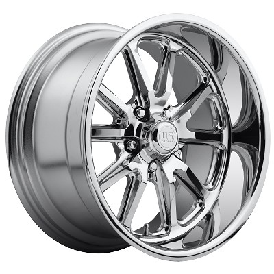 Chrome Rambler 1pc 20x9.5 5/4.75 +1mm Offset