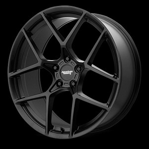 Cross Fire 20x10 5x120.65 Satin Black (75 mm)