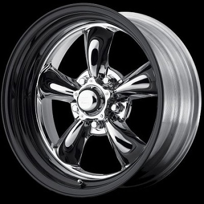 Chrome & Black Torq Thrust 15x12