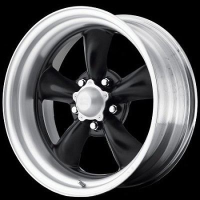 Brushed & Black Torq Thrust 17x9.5