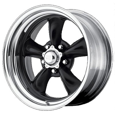 Black & Polished Torq Thrust 20x8