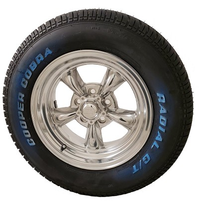 Torq Thrust II 15x7 5x5 Wheel and Tire Package Set of Four