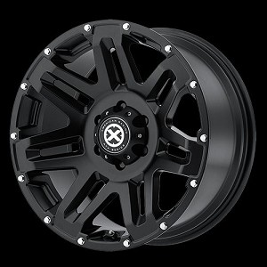 AX200 17x8.5 8x170 BLACK (0MM Offset)