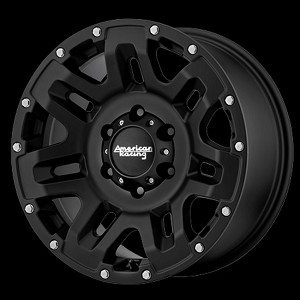 AR200 17x9 5x5 BLACK (18MM Offset)