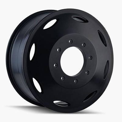 Brutal Black 20x8.25 8x6.5 115mm Offset 121.3mm Hub Bore