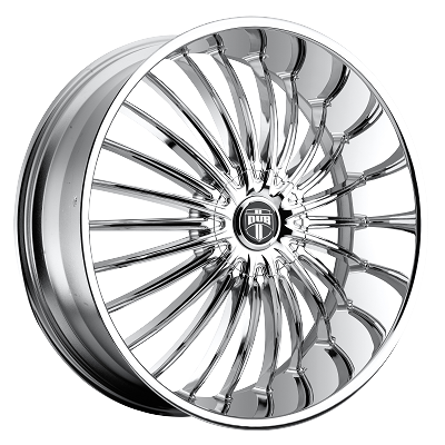 Suave 24x9.5 Chrome Plated Blank Bolt Pattern 10mm Offset