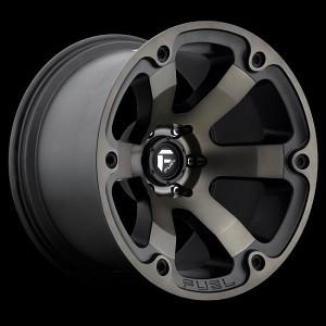Fuel Flat Black D56420905163 Beast 20x9 5x110 +35mm