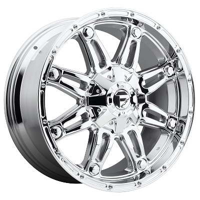 20x12 Chrome Hostage 8x170  -44MM Offset