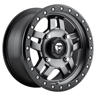 D558  Anthracite Anza 17x8.5 5x4.5 -6mm
