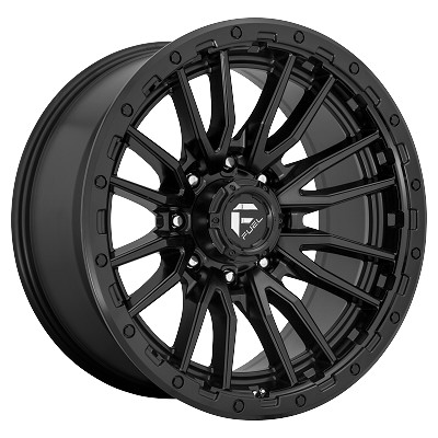 Rebel 20x9 Matte Black 5x139.7 (5x5.5) Bolt Pattern 1mm Offset