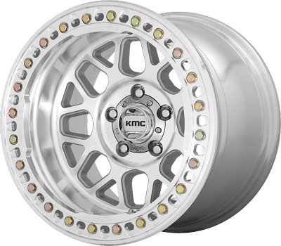 Grenade Crawl 17x9 Machined Blank Bolt Pattern -38mm Offset