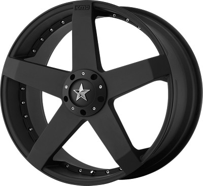 KM775  Rockstar Car 20x8 5x4.5 - 5x120 +42mm