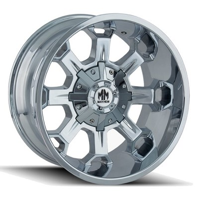 COMBAT 8105 CHROME 17x9  5x127, 5x139.7  -12mm Offset