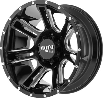 MO982 Amp 22x10 6x135.00 Black (-18 mm)