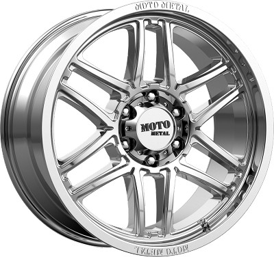 Folsom 20x9 Chrome 8x165.1 (8x6.5) Bolt Pattern 18mm Offset