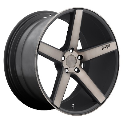 20x8.5 MILAN 5x4.50 +45MM Offset 72.6MM Hub