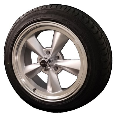 Ridler 675 17x7 & 17x9.5 5/4.75 Staggered Wheel and Tire Package Set of Four