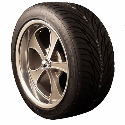 Ridler 645 17x7 5/4.75 Wheel and Tire Package Set of Four