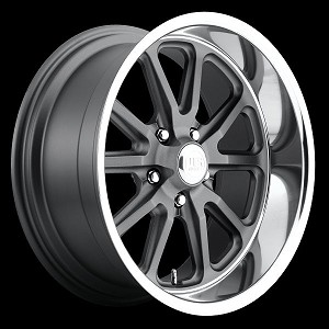 GunMetal Rambler 1pc 20x10 5/120 +35mm Offset