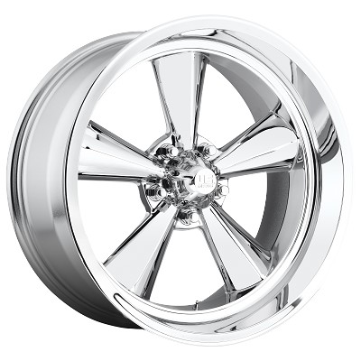 Standard 17x8 5/4.75 Wheel and Tire Package Set of Four