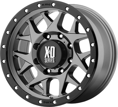 BULLY 20x9 5x5.50 GRAY (0mm)