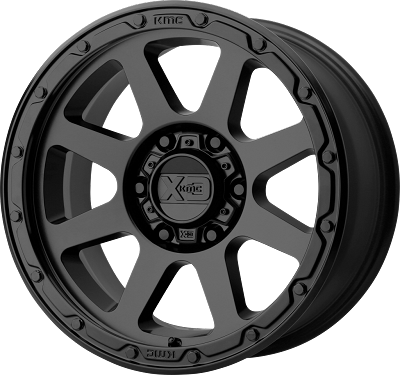 Addict 2 18x8.5 5x150 Matte Black (0 mm)