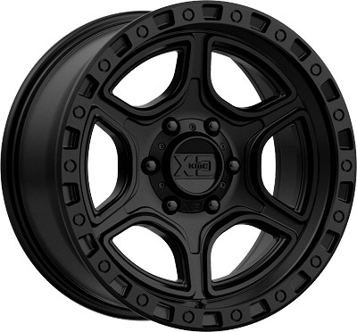 Portal 18x8.5 5x127 (5x5) Satin Black (18 mm)